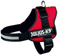 """Шлея тренировочная для собак """"Julius-K9"""" (3/XL; 82-118 см; красная)"""