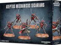 Warhammer 40.000. Adeptus Mechanicus. Sicarians (59-11)