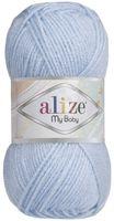 "Пряжа ""ALIZE. My Baby №40"" (50 г; 150 м; голубой)"