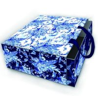 """Подарочная коробка """"Голубые цветы"""" (арт. 77311)"""