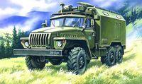 Подвижный командный пункт Урал 4320 (масштаб: 1/72)