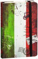 """Записная книжка """"Флаги мира. Италия"""" (А6; 80 листов)"""
