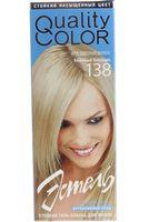 """Гель-краска для волос """"Эстель. Quality Color"""" (тон: 138, бежевый блондин)"""