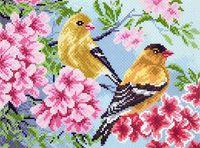 """Набор для вышивания """"Птицы в саду"""""""