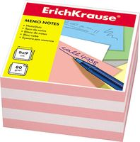 """Бумага для заметок """"Erich Krause"""" (90х90 мм; персиково-белая; арт. 6600)"""