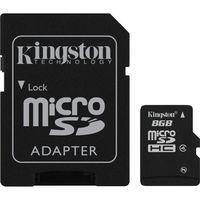 Карта памяти Kingston MicroSDHC 8Gb