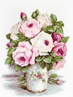 "Вышивка крестом ""Смешанные розы"" (240х310 мм)"