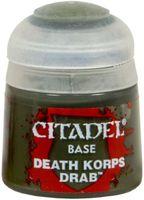 "Краска акриловая ""Citadel Base"" (death korps drab; 12 мл)"