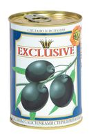 """Маслины """"Exclusive. С косточкой"""" (390 г)"""