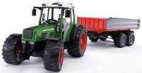"""Модель машины """"Bruder. Трактор Fendt 209 S с прицепом"""" (масштаб: 1/16)"""