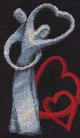 """Вышивка крестом """"Любовь"""""""