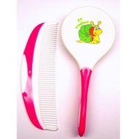 Набор для ухода за волосами детский (расческа, щетка; арт. 011)