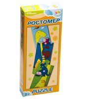 """Пазл деревянный """"Ростомер"""" (4 элемента)"""