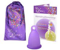 """Менструальная чаша """"Classic"""" (размер M; кольцо; фиолетовый)"""