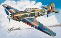 """Истребитель """"Hurricane Mk. I"""" (масштаб: 1/48)"""