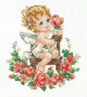 """Вышивка крестом """"День Ангела!"""""""