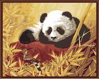 "Картина по номерам ""Панда"" (400х500 мм)"