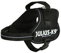 """Шлея тренировочная для щенков """"Julius-K9"""" (Mini-Mini/S; 40-53 см; черная)"""