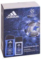 """Подарочный набор """"UEFA Champions League"""" (парфюмерная вода, гель для душа)"""