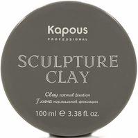 """Глина для укладки волос """"Sculpture Clay"""" нормальной фиксации (100 мл)"""