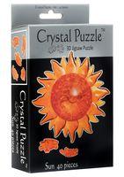 "Пазл-головоломка ""Crystal Puzzle. Солнце"" (40 элементов)"