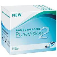 """Контактные линзы """"Pure Vision 2 HD"""" (1 линза; +4,0 дптр)"""