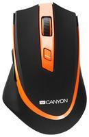 Мышь беспроводная Canyon CNS-CMSW13BO (черно-оранжевая)