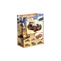 """Пакет бумажный подарочный """"Автомобили"""" (18х23х8 см; арт. 10733090)"""