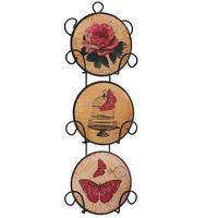 Набор декоративных тарелок (11,5х3х33,5 см; арт. 36256)