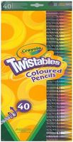 """Набор карандашей цветных """"Twistables"""" (40 цветов)"""