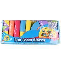 """Мягкий конструктор """"Fun Foam Blocks"""" (52 детали; арт. DV-T-275)"""