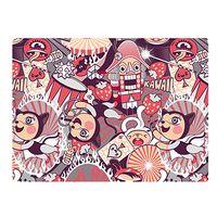 """Обложка на студенческий билет """"Kawaii Circus"""""""