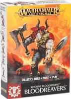 Warhammer Age of Sigmar. Blades of Khorne. Bloodreavers. Easy to Build (71-04)