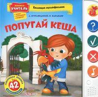 Попугай  Кеша. Книжка-игрушка