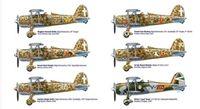 """Истребитель """"CR 42 Falco"""" (масштаб: 1/48)"""