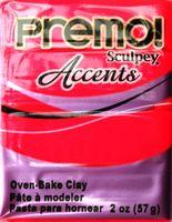 """Глина полимерная """"Premo! Accents"""" (розовый, 57 г)"""