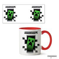 """Кружка """"Minecraft"""" (042, красная)"""