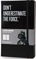 """Записная книжка Молескин """"Star Wars"""" в линейку (большая; твердая черная обложка)"""