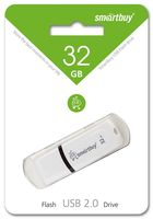 USB Flash Drive 32Gb SmartBuy Paean (White) (SB32GBPN-W)