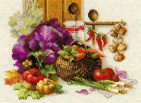 """Вышивка крестом """"Богатый урожай"""" (арт. 1544)"""