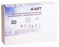 """Холст на подрамнике """"AZART"""" (200х300 мм; акриловый грунт)"""