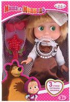"Музыкальная кукла ""Маша и Медведь. Маша-школьница"""