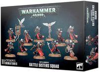 Warhammer 40.000. Adeptus Sororitas. Battle Sisters Squad (52-20)