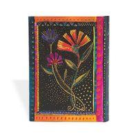"""Записная книжка Paperblanks """"Кивающие цветы"""" нелинованная (формат: 70*90 мм, микро)"""