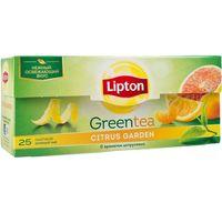 """Чай зеленый """"Lipton. Citrus Garden"""" (25 пакетиков)"""