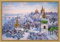 """Вышивка бисером """"Крещенские морозы"""" (350х245 мм)"""