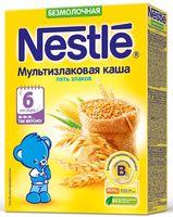 """Детская каша Nestle """"5 злаков"""" (200 г)"""
