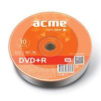 Диск DVD+R 4,7 Гб 16х Acme (10 штук) Bulk