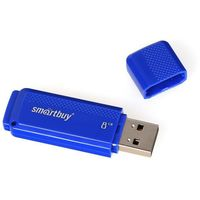 USB Flash Drive 8Gb SmartBuy Dock (Blue)