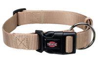 """Ошейник нейлоновый для собак """"Premium Collar"""" (размер S-M, 30-45 см, бежевый)"""